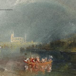 Turner, Chiostro del Bramante Roma