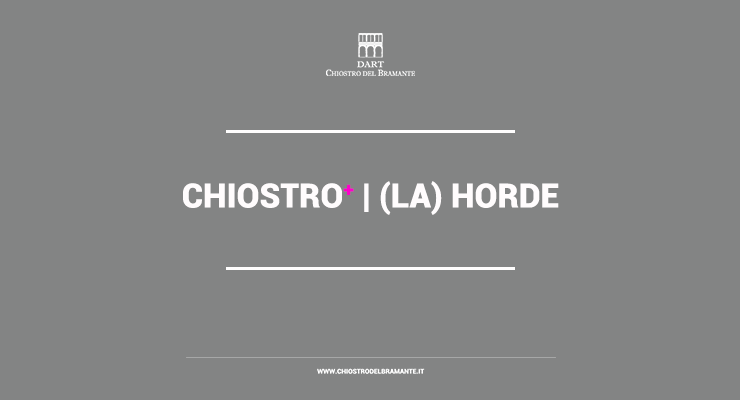 (LA)HORDE   Performance Jumpstyle + Dj Set al Chiostro del Bramante