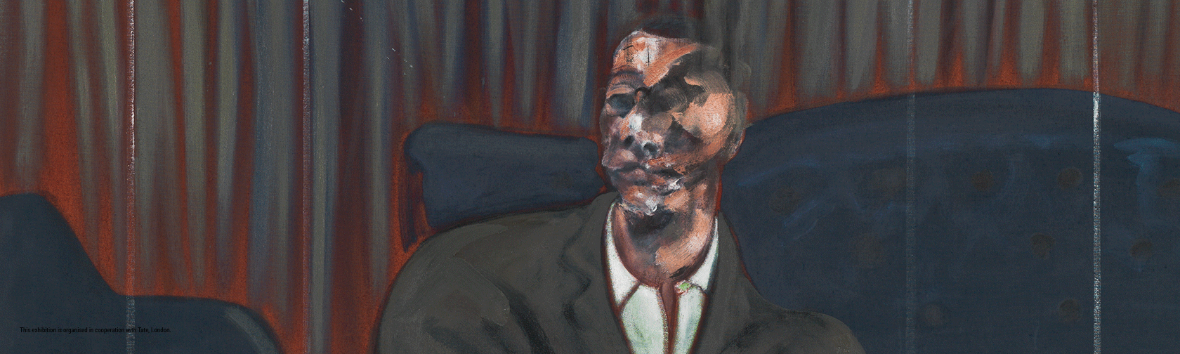 Francis Bacon_ Seated Figure_BACON, FREUD E LA SCUOLA DI LONDRA